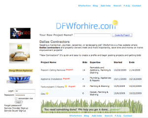 Find Popcorn Removal Contractors at DFWforhire.com