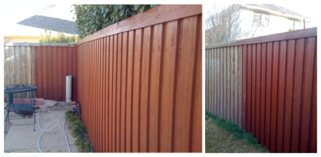Fence stain pictures behr ask home design for Behr barn and fence paint